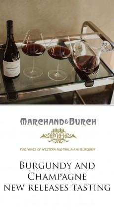 EVENT - Burgundy & Champagne tasting - Perth   June 27th   SOLD OUT